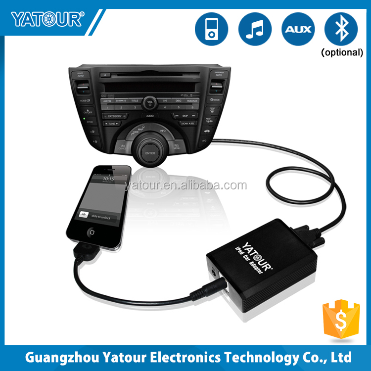 Yatour yt-m05 ipod/iphone integrazione car audio kit ( cd changer adattatore di interfaccia )