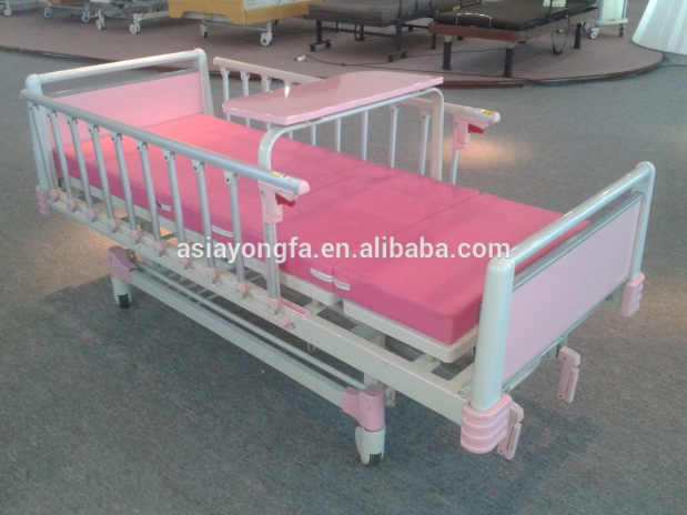 Yfc261k ii hospital children bed pediatric hospital bed for Cradle bed for adults