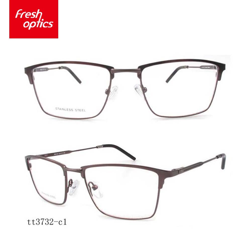 Tt3732 French Eyeglass Frames With Thin Temple,Full Rim Metal ...