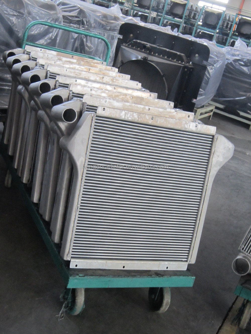Alibaba China Supplier Aluminium Man Tga Intercooler