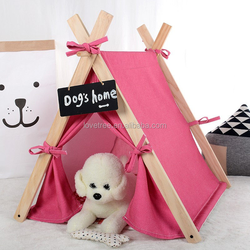 Love Tree pink pet dog house