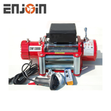 13000lbs 12v electric winch with cable rope for sale