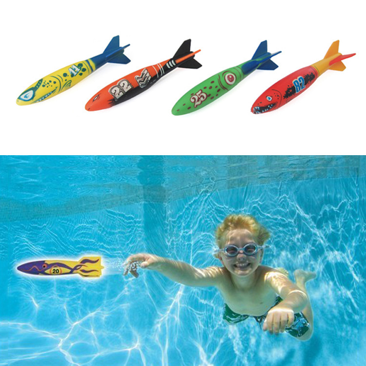 Aliexpress Com Buy 4pc Underwater Torpedo Rocket