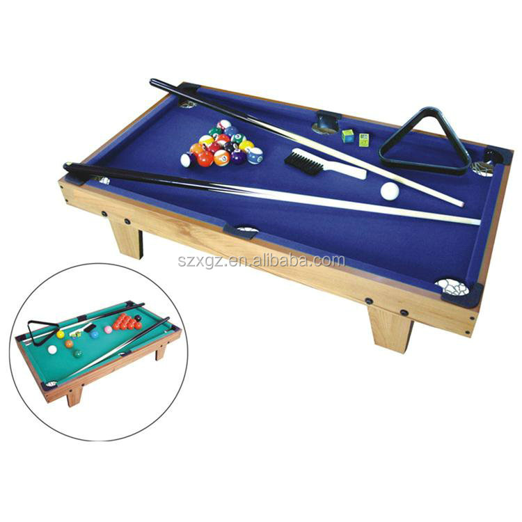 Children playing mini billiard snooker table indoor small pool tables