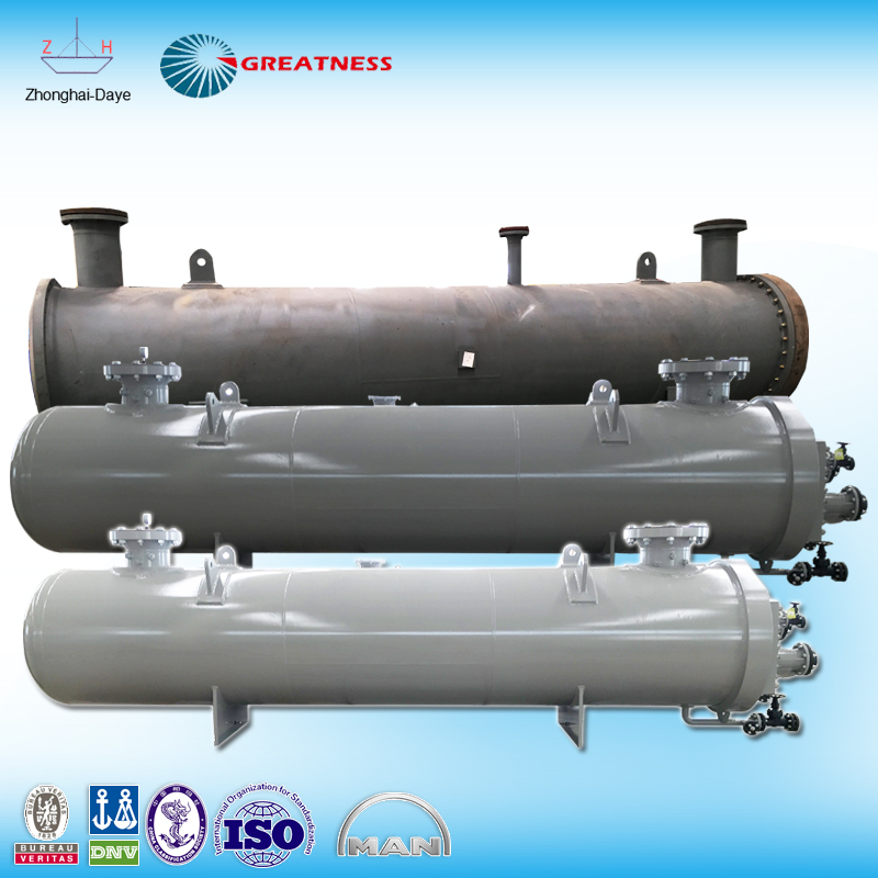 hydraulic oil cooler shell and tube heat exchanger price manufacturer in China