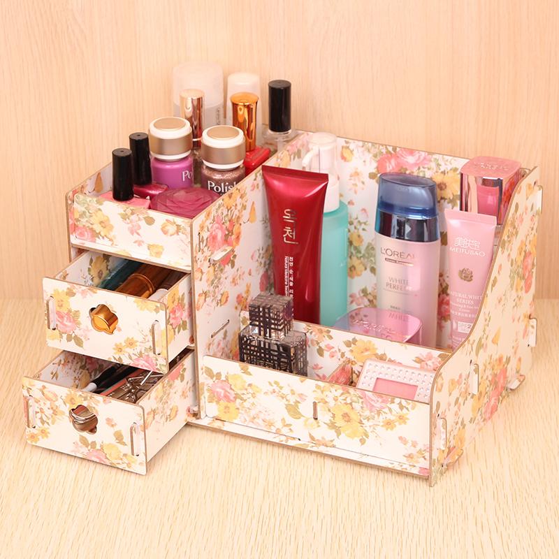 Diy makeup drawer organizer