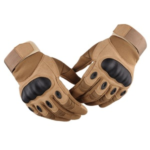 Tactical Gloves Paintball Airsoft Outdoor Sports Hard Carbon Shell Full Finger Gloves