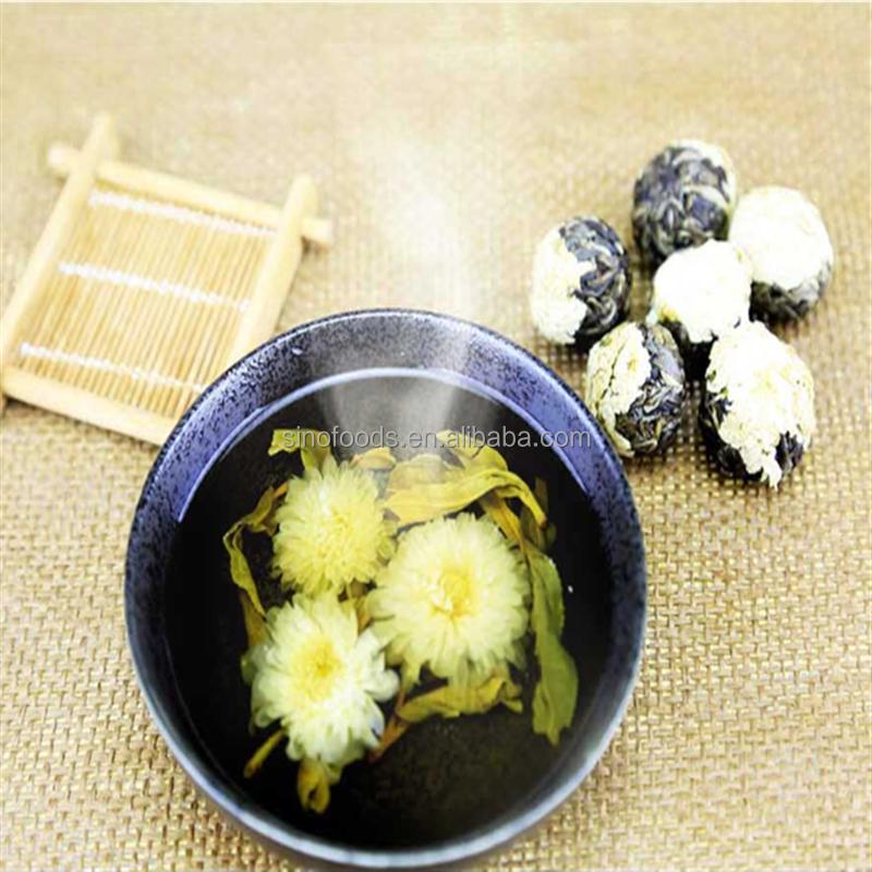 chrysanthemum ball tea/blooming Tea Individual Bags/Flowering Tea Balls - 4uTea | 4uTea.com