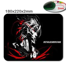 Quick printing Vendita calda di prezzi bassi videogiochi opere arte metal gear rising ottico mouse pad/mouse per notebook pad