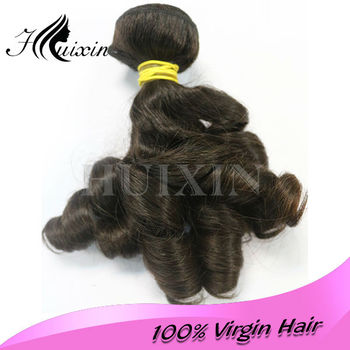 Hot selling malaysian bouncy curly from double drawn 100% virgin human hair weave 2014 new style malaysian aunty bouncy curly
