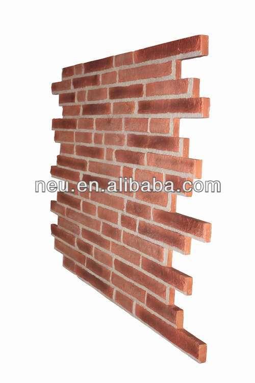 Polyurethane Foam Brick Fireproof Waterproof Faux Brick 3