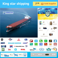 Container shipping sea freight forwarder to Odessa Ukraine FCL/LCL-Jack skype:ks85909327