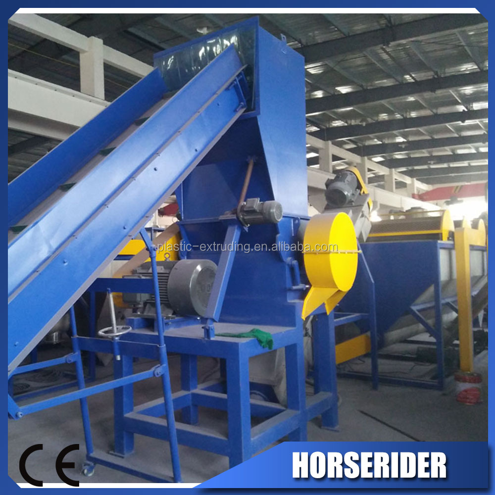 Plastic PP PE LDPE HDPE Film Crushing Recycling Washing Line Good Machine Best Price