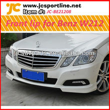 PU front lip for Benz W212(barbus style)