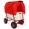 TC1812A Kids wagons with rubber wheels