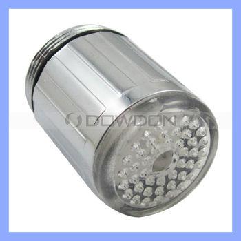 Rgb Glow Led Faucet Tap Light Temperature Sensor With