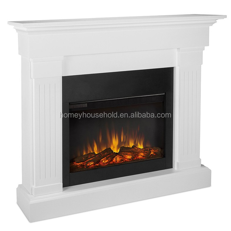 Hot selling french shabby chic cottage custom design wood stove fireplace mantel