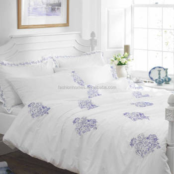 Embroidery Bed Sheetdouble Bedding Set Buy Double Bedding Set