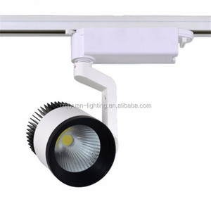 Lighting Fair Global Tracking Light High Lume 20W COB 38D Reflector Triac Juno Track System House Lighting