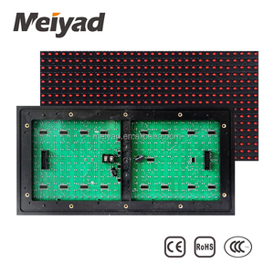 Outdoor IP65 High Quality Red/Green/White/Blue LED Modul P10 806 Pcb Board