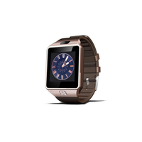 New products smart watch , Anti-Lost Call Reminder Sleep smart watch DZ09 for smartphone For Apple