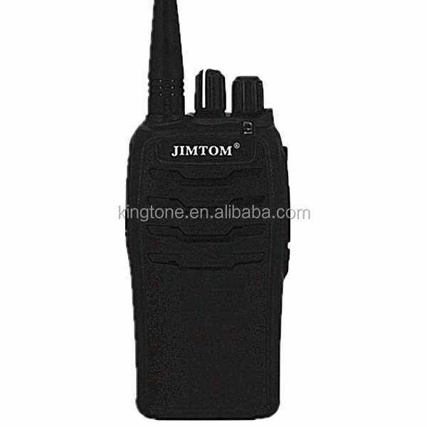 JIMTOM Handheld Walkie Talkie Long Distance 10W UHF KT-810 Ham Radio