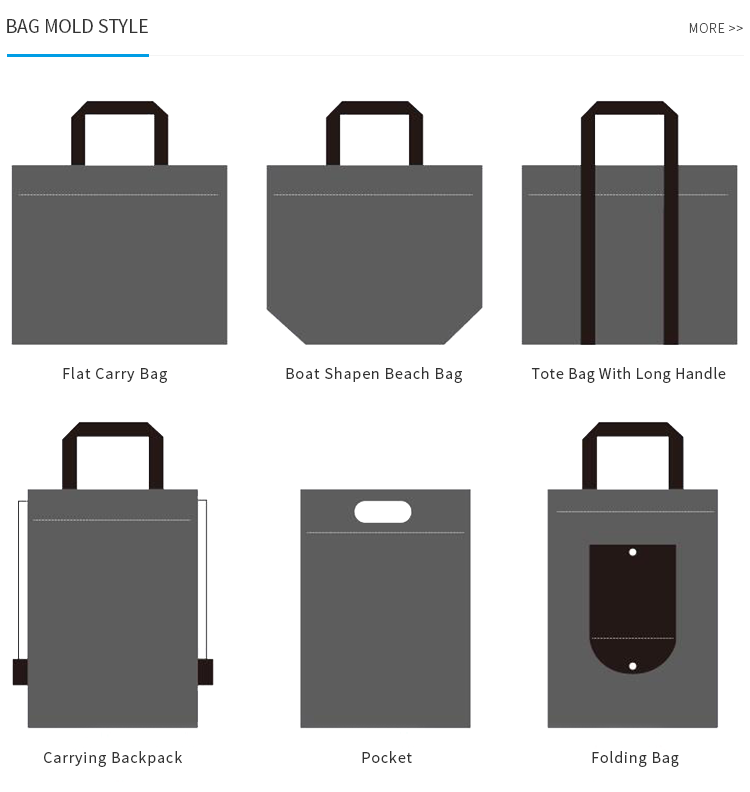 Promotional Standard Size Customized Logo Shopping Non Woven Fabric Carry Bag
