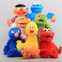 China manufacturer dolls Sesame Street plush toy ELOM stuffed for kids