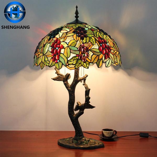 kantoor tiffany tafel decoratie item stopcontact hotel tafellampen oosterse lamp bankers lamp