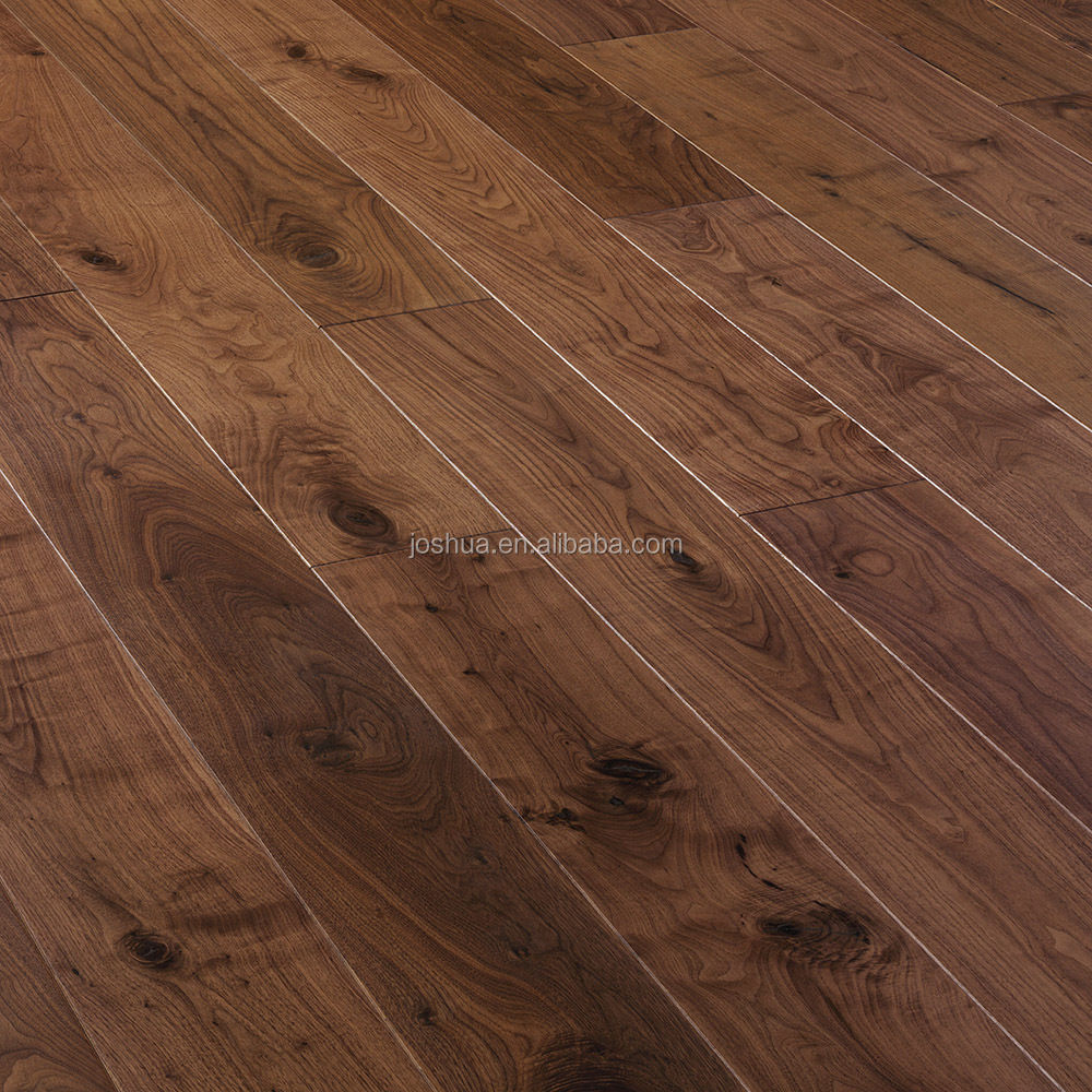 "5"" wide American Dark black walnut wood <strong>floor</strong> ,15mm engineered <strong>floor</strong> , Tongue & Groove shipping free"