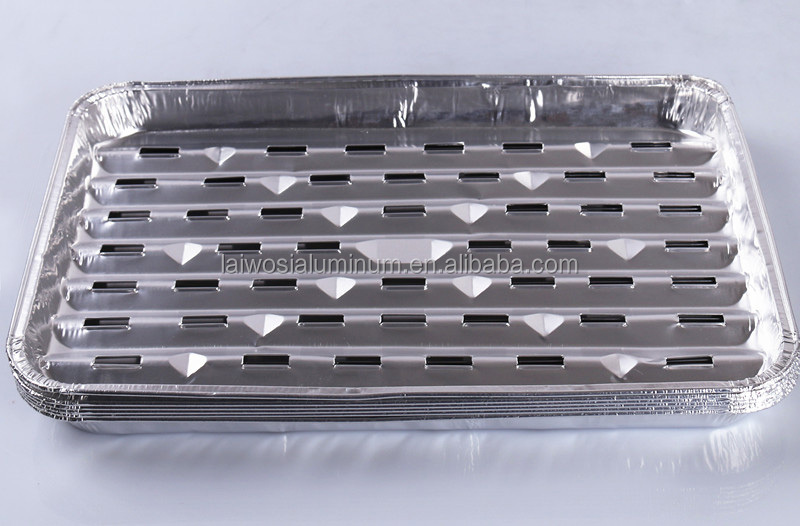 disposable aluminium foil bbq grill pan