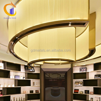 China Supplier Ceiling Panel Stainless Steel Fabrication Custom Decorative Stainless Steel Frame