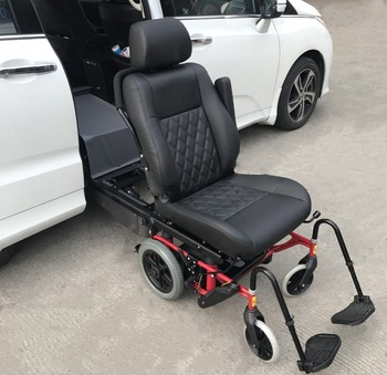 Xinder car seat lift , Wheelchair Swivel Seat System with wheelchair base can install on MPV middle door