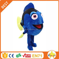 Funtoys CE Blue Clown Fish Nemo Mascot Costume