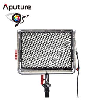Aputure led color changing light studio flash light with E-mount and Anton bauer battery pack LS 1C