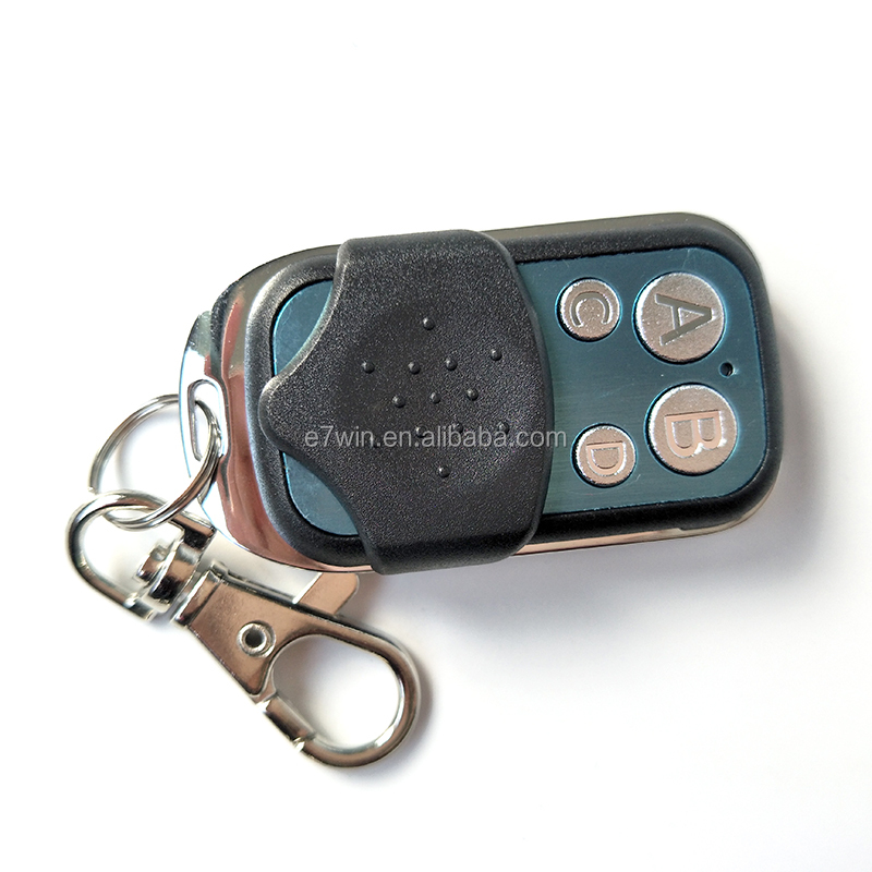 433mhz Universal Cloning Key Fob Remote Control for Garage Doors Electric Gate cars ETC Remote Control Duplicator