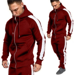 mens jogging suits wholesale Custom splice sweatsuit track suit for men