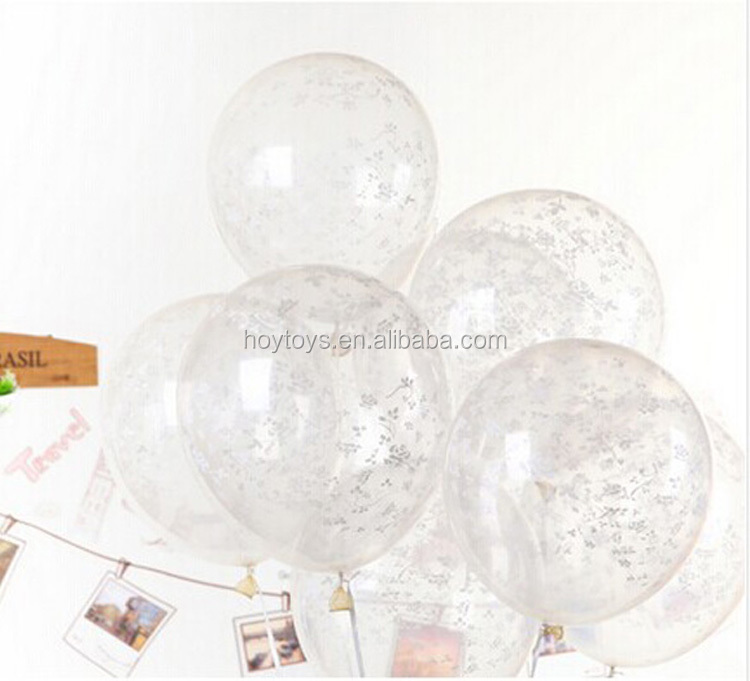 New design transparent balloon printed clear balloon
