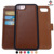 Detachable 2 in 1 Leather Wallet Case with 3 RFID Card Holders and 1 Cash Pocket with Slim Back Cover for iPhone 7