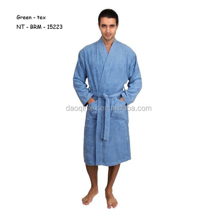 Men's Turkish Cotton Robe Kimono Terry Bathrobe Made In China ...