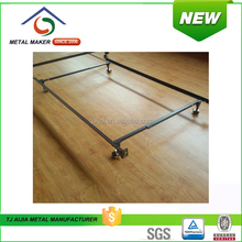 rust-proof finished Low Profile Metal Bed Frame King