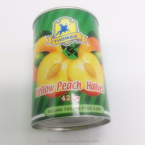 Canned Fruit Canned Food Tinned Packaging Crisp Peach Canned