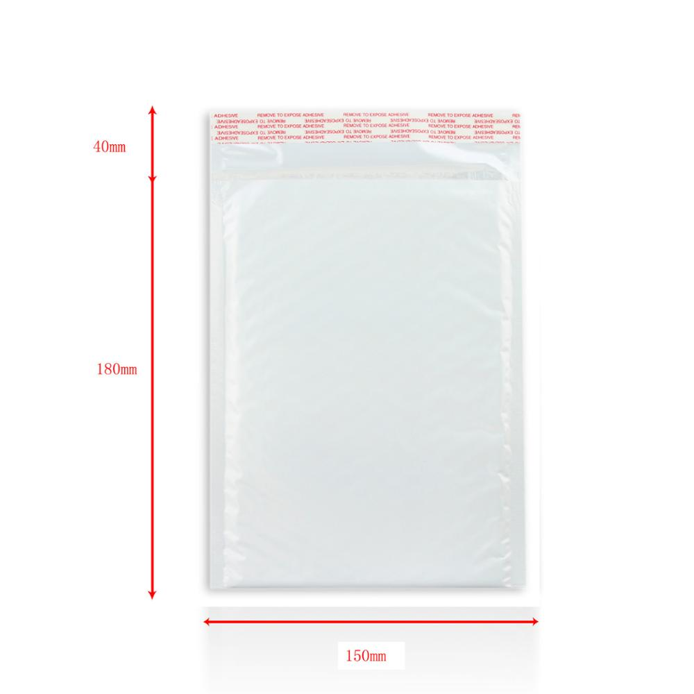 Customized size and color poly bubble mailer bag