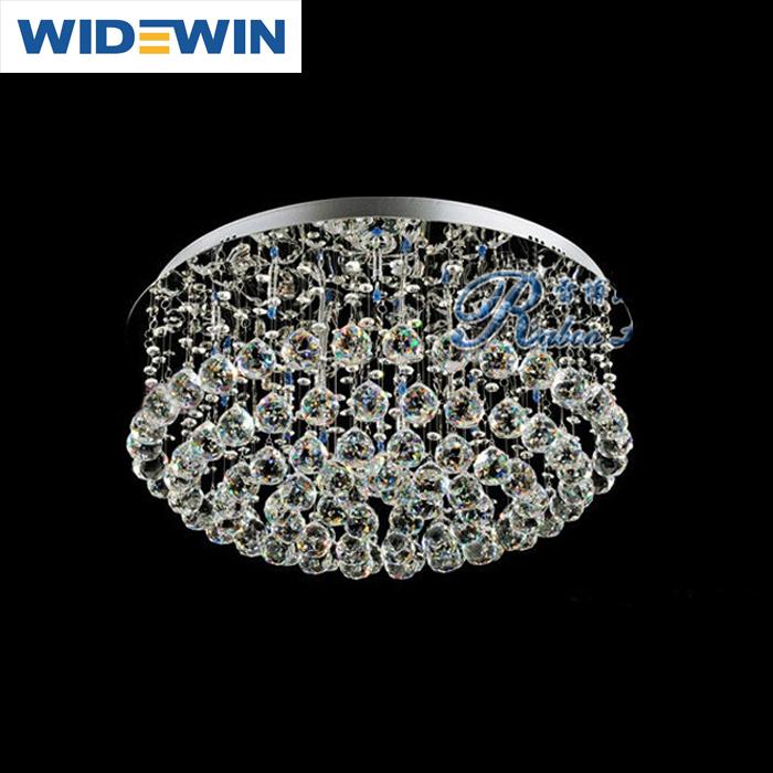 Industriële Verlichting Moderne Romantische Kristal Ronde Plafond ...