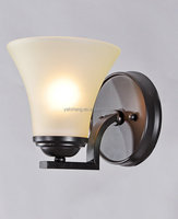 cUL listed antique finishing LED glass wall lamp