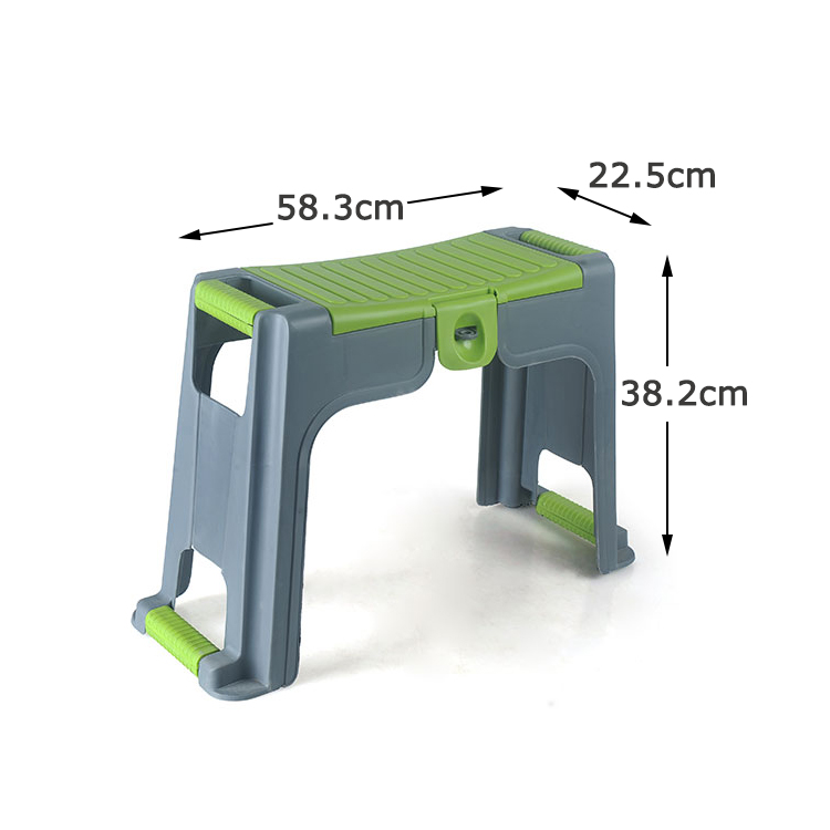 Home & Garden Work Tool Storage Kneeler Stool With  Knee Pad