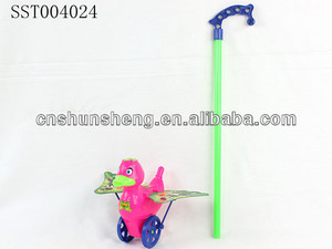 Funny Ourdoor Toys Hot Sale Pull and Push Toys,Pull and Push Animal