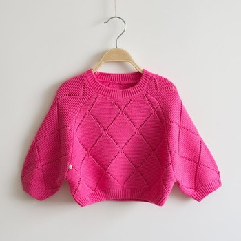 official photos e40f7 e2cbb Kind Fledermaus Ärmel Pullover Baby Mädchen Pointelle Modern Strickpullover  - Buy Mädchen Moderne Pullover Stricken,Pointelle Mode ...