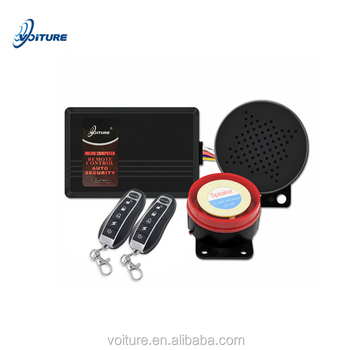 voice type anti-burglary safeguard remote operation motorcycle audio prompt alarm systems motorcycle accessories