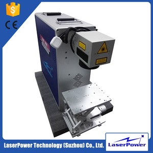 Professional Supplier 20w Fiber Laser Marking Machine Price For Key Chain Pen